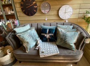 Clocks & Cushions